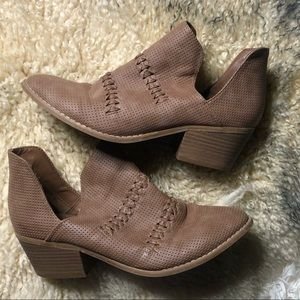 Universal Thread Ankle Booties, Size 9